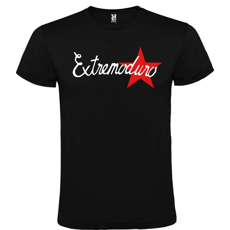 Camiseta Negra EXTREMODURO Logo Hombre Talla S M L XL XXL XXXL 100/% ALGOD/ÓN Mangas Cortas