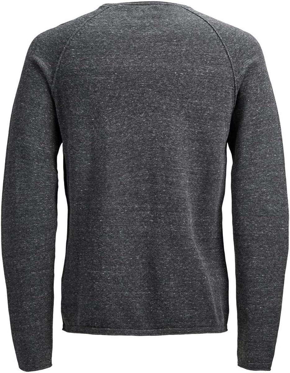 JACK and Jones Core EX Felpa Uomo Gents Crew Pullover T Shirt Tee Top