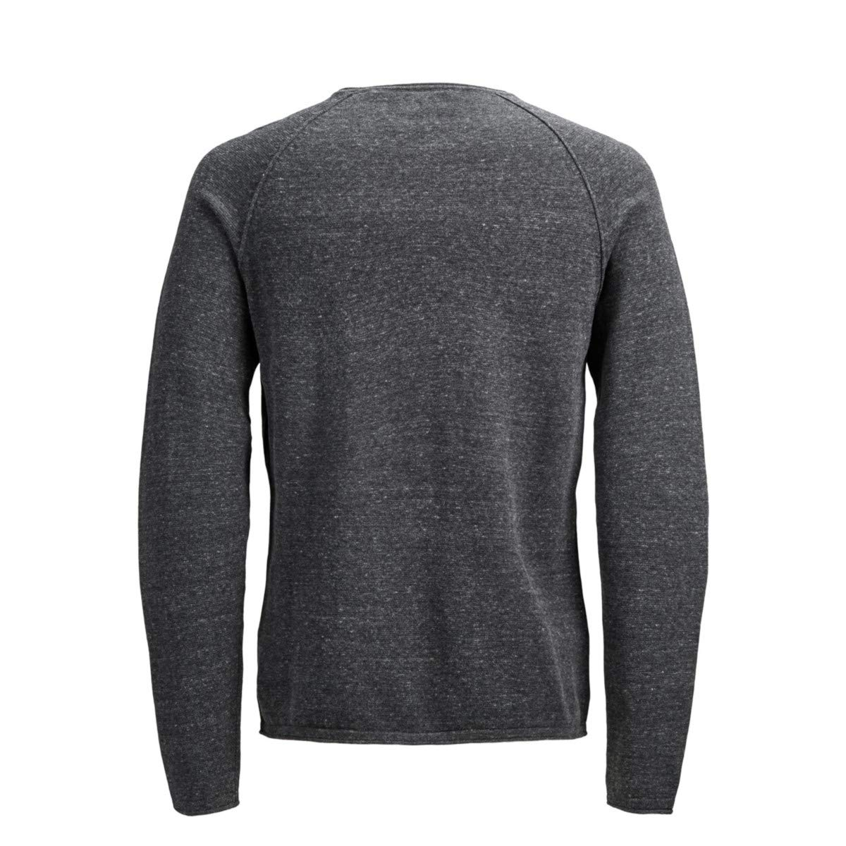 JACK & JONES - Jersey Hombre Color: Dark Grey Melange Talla: L