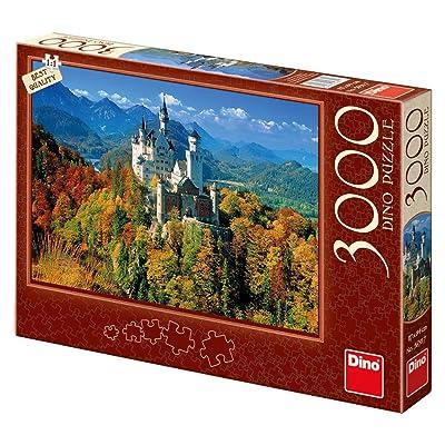 Dino Toys 563117 - Puzzle diseño de Sierras de Cerveza en otoño: Juguetes y juegos