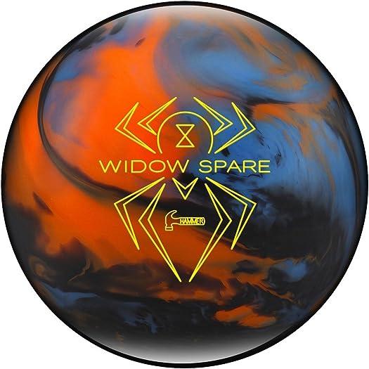 Hammer Black Widow Spare Bowling Ball Blue Orange Smoke, 16lbs