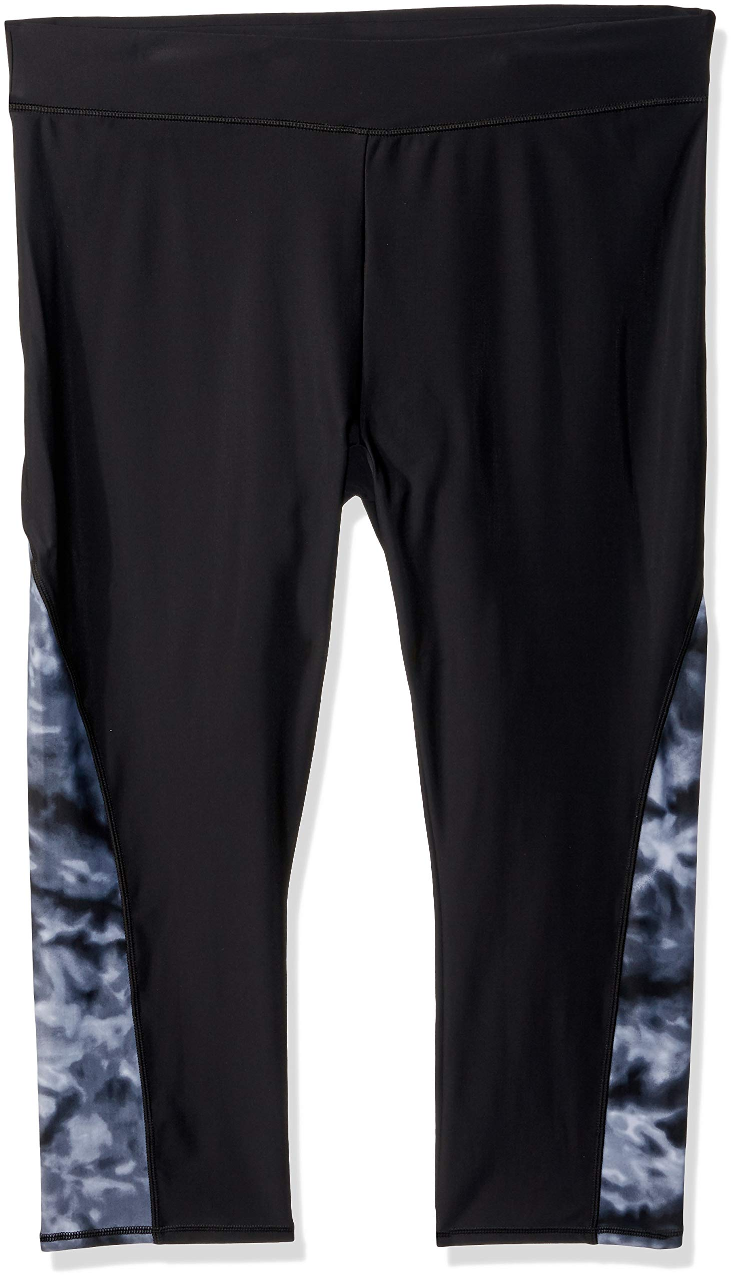 Speedo Women's Paddle Pants, Black/Grey, Medium by Speedo