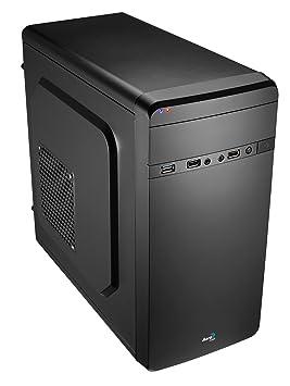 Aerocool QS-180 - Caja de ordenador (PC, Acero, 1x 80 mm, Fondo, Micro-ATX, Mini-ATX, Hogar/Oficina): Amazon.es: Informática