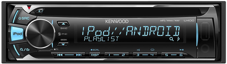 ケンウッド(KENWOOD) カーオーディオ 1DINサイズ U400 B00OZJFEUI