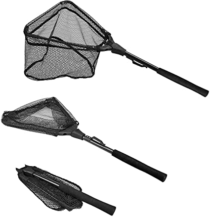 Small Telescopic Minnow Net Great Fishing Net for Landing or Releasing Fish