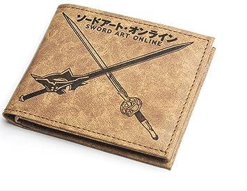 Sword Art Online Anime Monedero Kirito Asuna Yuuki Espada ...