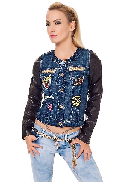 Giubbino Jeans E Jeans Donna Pelle Giubbino Jeans Pelle Donna E Donna WE2YDeIbH9