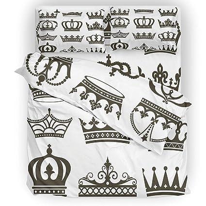 Amazon King Disney Princess Bedding Set Symbol Of Royalty