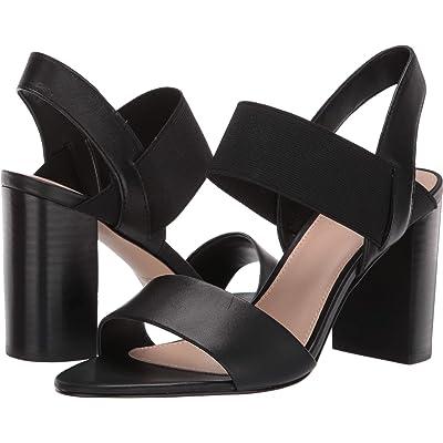 ALDO Mullyra Black Leather 40 (US Women's 9)   Sandals