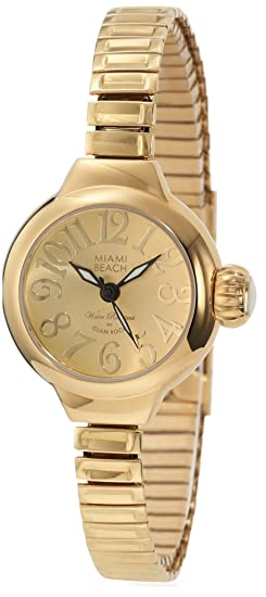 Glam Rock MBD27155 - Reloj de Pulsera Mujer, Color Oro: Amazon.es: Relojes