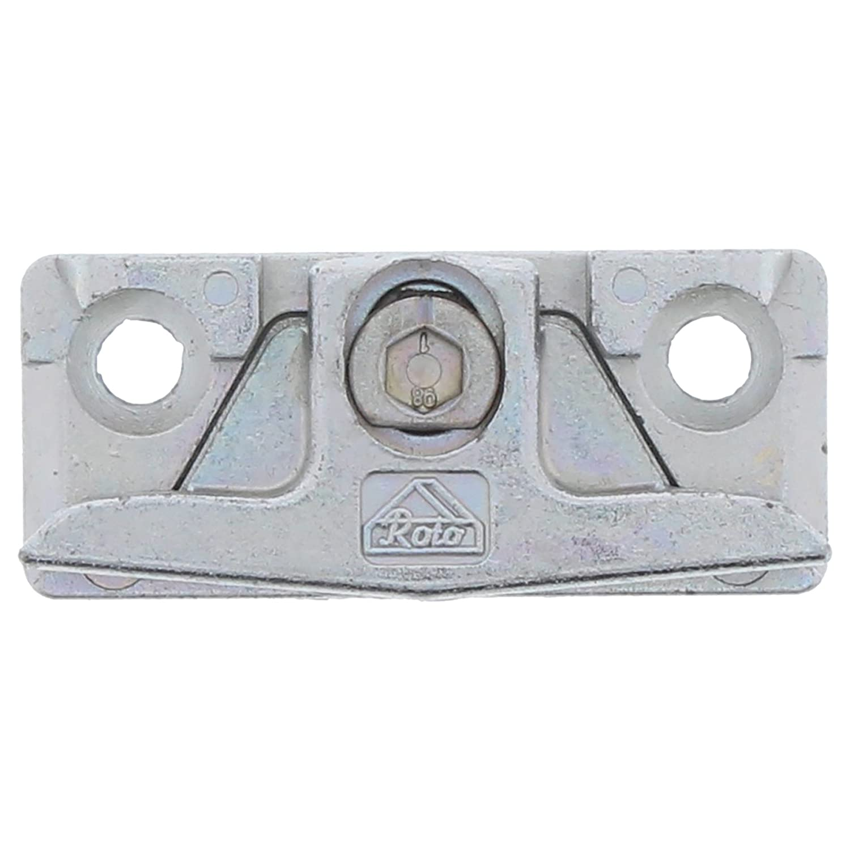 Roto Centro 100 Placca di chiusura R604 B 81006 20 mm scanalatura europea regolabile