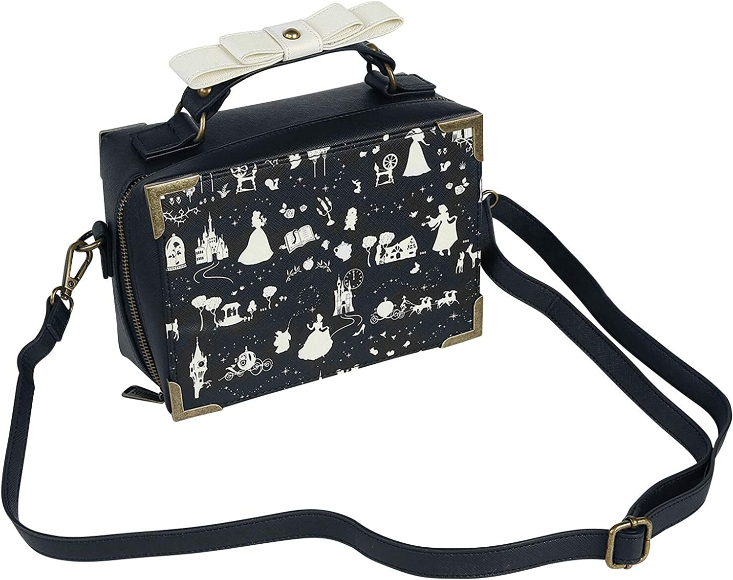 Loungefly x Disney Princess Vintage-Inspired Box Crossbody Bag