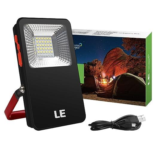 8 opinioni per LE Faro Faretto LED portatile 6W,