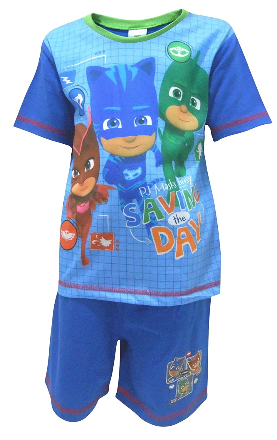 PJ Masks Boys Saved The Day Short Sleeve Pyjamas