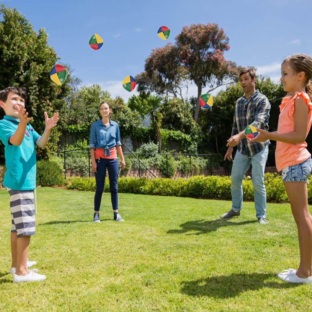 Joyibay 12PCS Bolas de Malabares Bolas de Juego Divertido Juguetes Interactivos para Niños