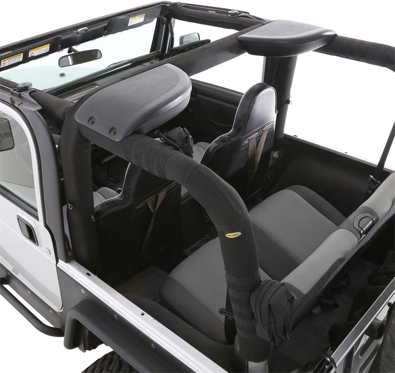 Amazon Com Smittybilt 5665101 Molle Foam Lined Roll Bar Cover For 1997 2002 Jeep Wrangler Automotive