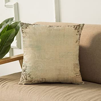 Amazon.com: NBLSDR - Funda de almohada de estilo europeo, 2 ...
