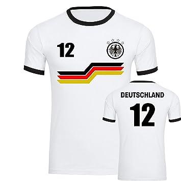 the latest edf51 a42cf Mit Bunte T Nr12 Shirt Trikot Balken Adler Weiß Herren ...