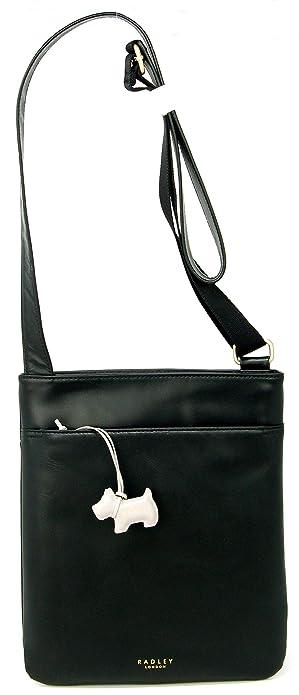 abfa4bd81dab6b RADLEY 'Pocket Bag' Medium Black Leather Across Body Bag - RRP £119 ...