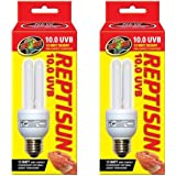 2-PACK ReptiSun 10.0 UVB Mini Compact Fluorescent (13 watts)