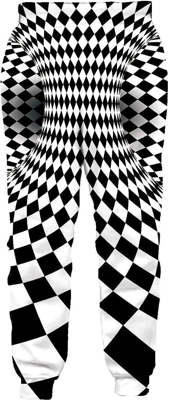 RAISEVERN Men//Women Sweatpants Funny Joggers Pants Sports Trousers with Drawstring