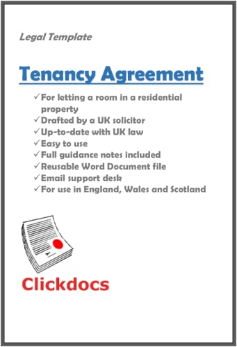 Tenancy Agreement Room Legal Template Download Amazon Co Uk Software