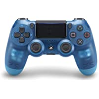 Sony CUH-ZCT2G DUALSHOCK4 wireless controller, Crystal Blue - PlayStation 4