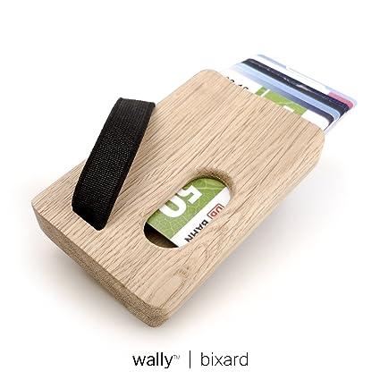 Portemonnaie Kartenh/ülle aus Eiche bis zu 7 Kreditkarten Wally/™