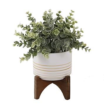 Amazon.com: Flora Bunda planta artificial suculenta de 4,75 ...