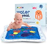 "JoeyKids Deluxe Inflatable Baby Water Mat - Large 24"" x 24"" Water Play Mat for Children and Infant"