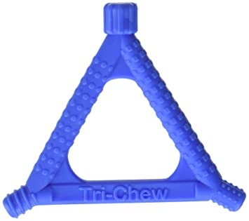 Beckman Oral Tri-Chew Blue, Soft