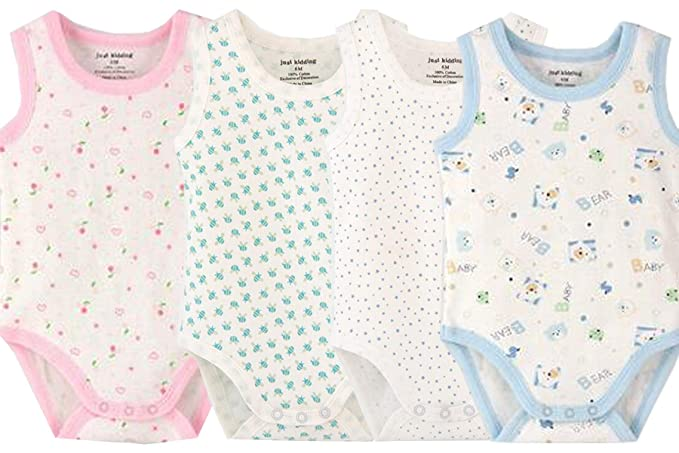Pack of 3 Girls Tank Top Onezies