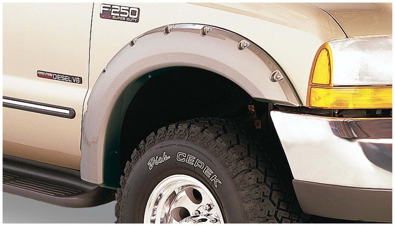 Bushwacker 20914 02 Ford Pocket Style Fender Flare Set 2002 Explorer Fuel Filter Of 4 Automotive