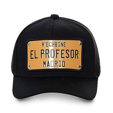 Hechbone El Profesor - Gorra para Hombre, Color Negro y Dorado ...