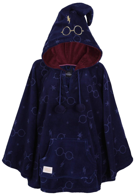 Poncho Bleu Marin Harry Potter