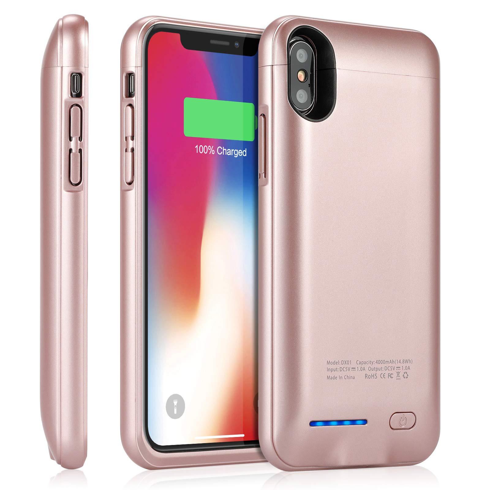 Funda Con Bateria de 4000mah para Apple Iphone X/Xs YISHDA [7RN7NT7W]