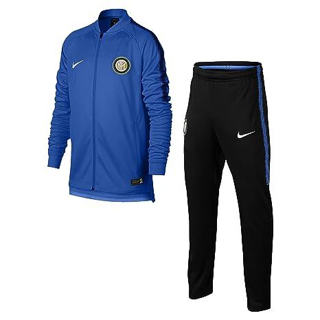 Chándal oficial del club Inter F.C 2017 y 2018, color azul, para ...