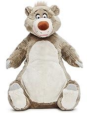 "Official Disney Classics Range 10"" Jungle Book Baloo Plush Toy on Plinth"