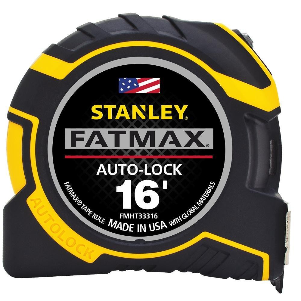 Stanley FMHT33348 FATMAX Auto-Lock Tape Rule, 30' 30' Stanley Consumer Storage
