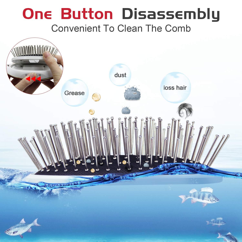 Amazon.com: ALDOM Cepillo de pelo portátil iónico cepillo ...