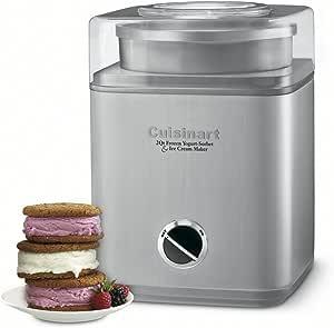 Cuisinart ICE-30BCC Pure Indulgence Frozen Yogurt-Ice Cream & Sorbet Maker