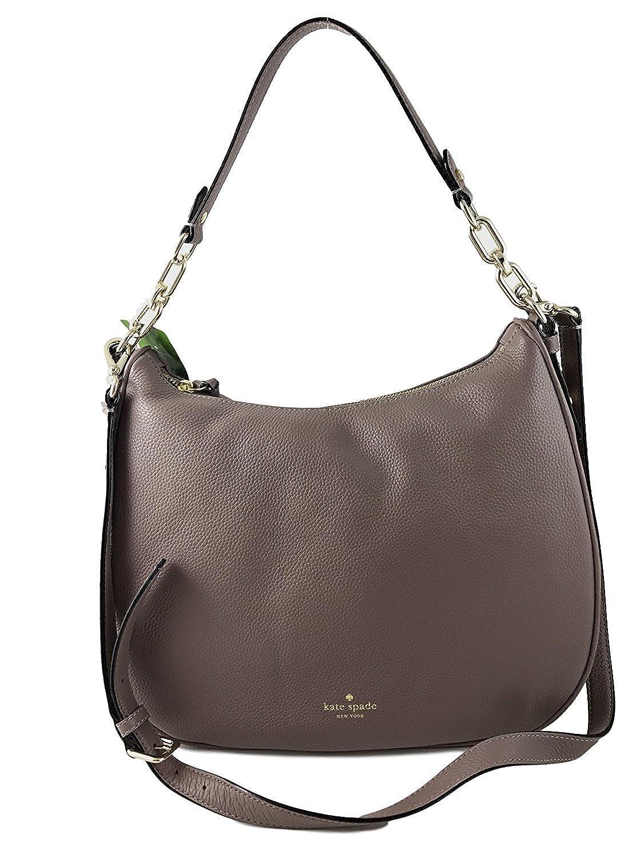 1a3673ecec Amazon.com  Kate Spade New York Vivian Mulberry Street Leather Shoulder Bag  in Porcini  Shoes