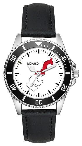 Monaco Gift Item Idea - Reloj de Pulsera, diseño con Texto en inglés L-1249: Amazon.es: Relojes