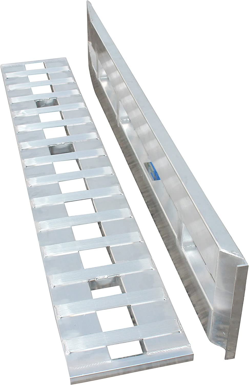 48 x 15 Aluminum Car Trailer Loading Ramps Hook-End