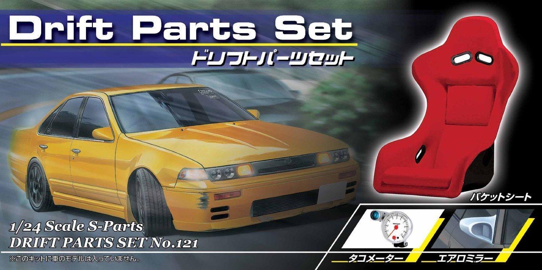 1 24 S Teile Reifen & amp; Radsatzes No.121 Drift Teile