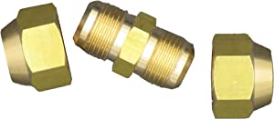 """Air Conditioning Copper Pipe Extension for Joint Double Connector Intermediate Connection Head Free Welding Butt Copper Tube Diameter 6-19mm Flare Nut (3/4"""" (19.05mm) Copper Tube)"""
