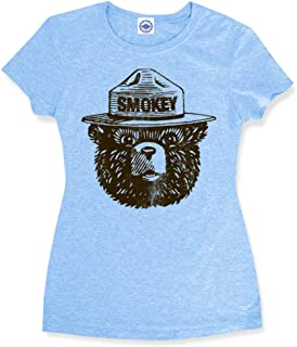 product image for Hank Player U.S.A. Official Smokey Bear Women's T-Shirt