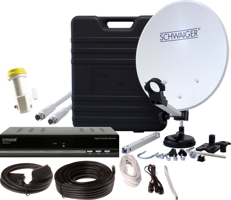 Instalación Schwaiger acampar portátil por satélite de usuario ...