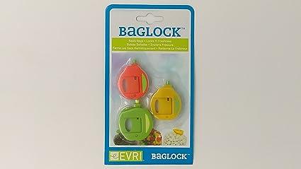 Amazon.com: evri baglock Congelador de pinzas para bolsas (3 ...