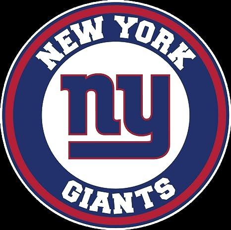 Amazon Com Circle New York Giants Logo Vinyl Decal Ny
